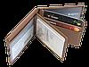 Кожаная обложка для прав Carrs с логотипом PORSCHE коричневая (POR06), фото 7