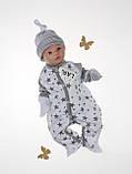 """Летний набор для новорожденных """"Звездопад"""", белый, фото 3"""