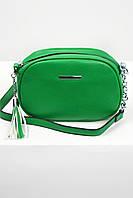 Кросс-боди Меган зеленая, фото 1