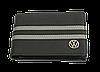 Шкіряна обкладинка для прав Carrs з логотипом VOLKSWAGEN чорна (VW04), фото 2