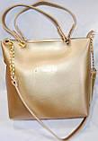 Брендові жіночі сумки МК еко-шкіра (2 кольори)26*28, фото 2