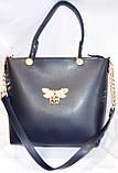 Брендові жіночі сумки МК еко-шкіра (2 кольори)26*28, фото 6
