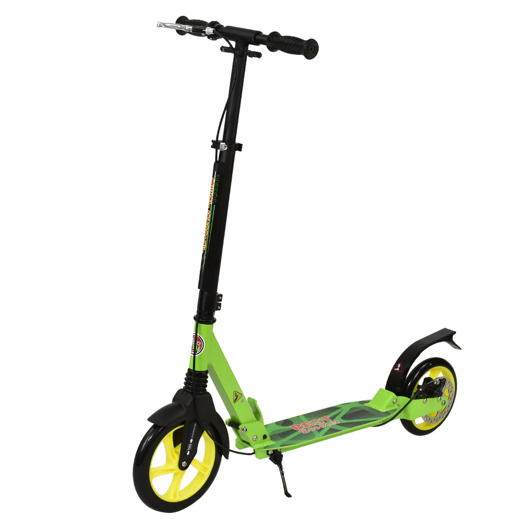 Самокат Best Scooter 00149 Салатовый 66048