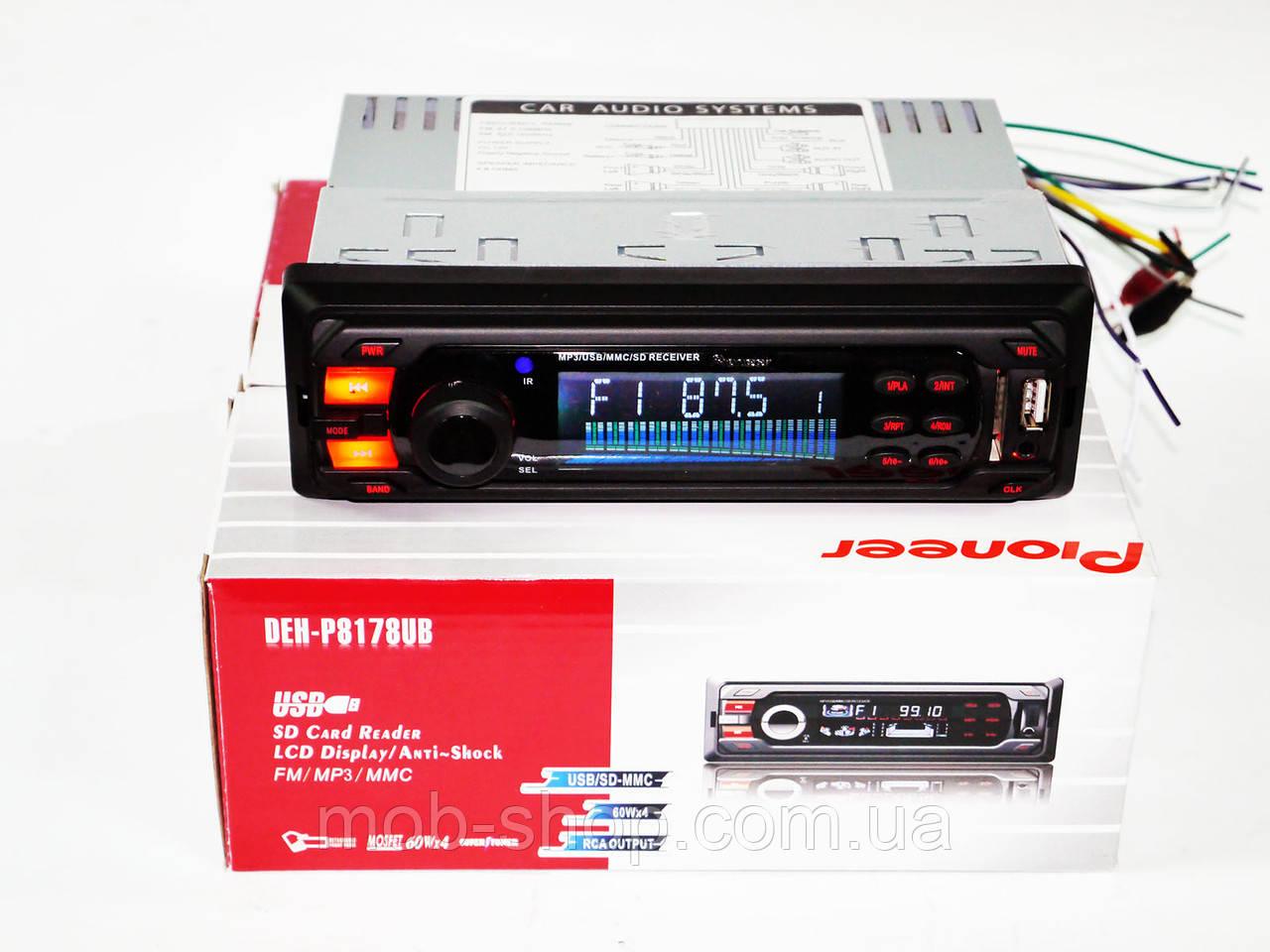 Автомагнитола пионер Pioneer DEH-8178UB USB AUX 0970816242