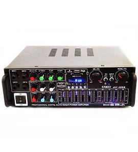 Усилитель звука UKC AV-326BT, с караоке