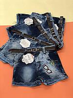 Детские джинсовые шорты для мальчиков 1,4,5 лет