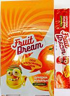 Конфеты жевательные с ароматом апельсина + витамин С 18шт/270гр