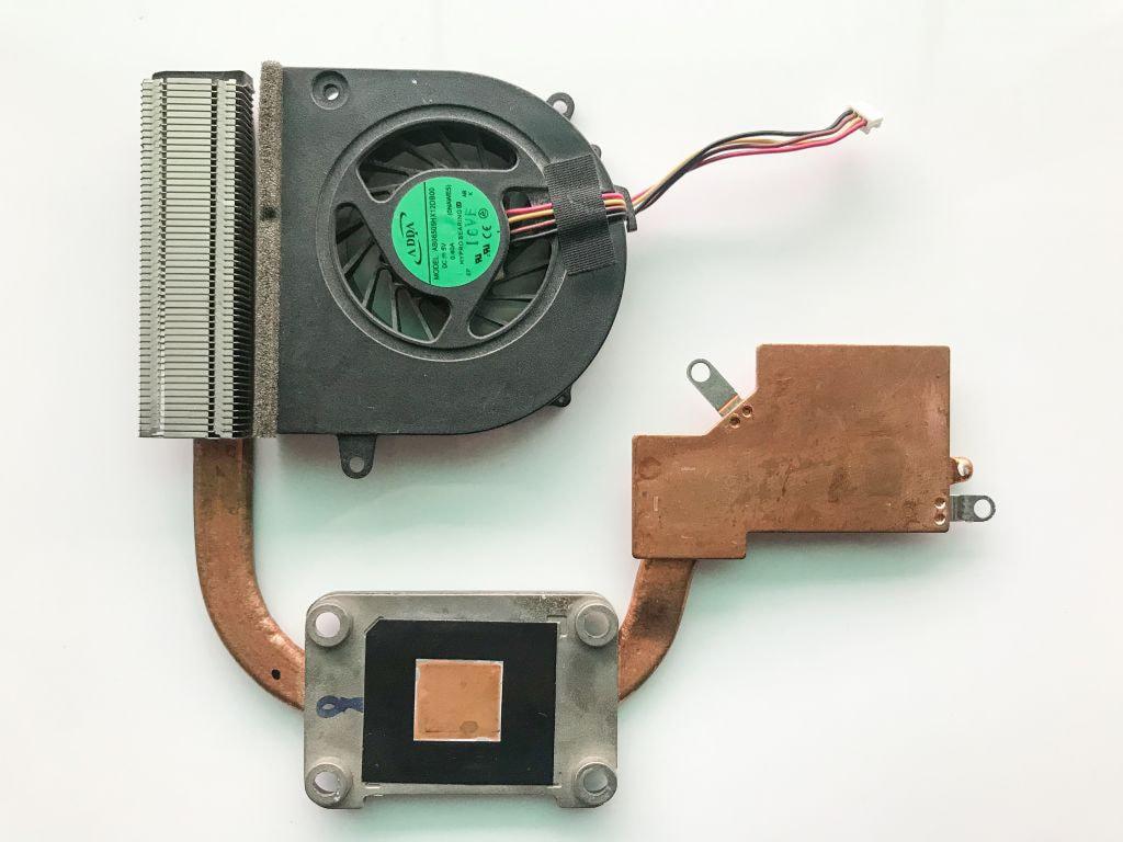 Система охлаждения Lenovo G565 радиатор + кулер