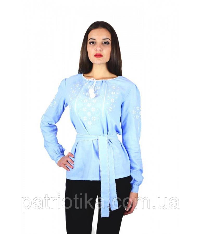 Рубашка вышитая женская М-225-4 | Сорочка вишита жіноча М-225-4