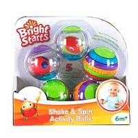 Забавные мячики Крути-верти Bright Starts
