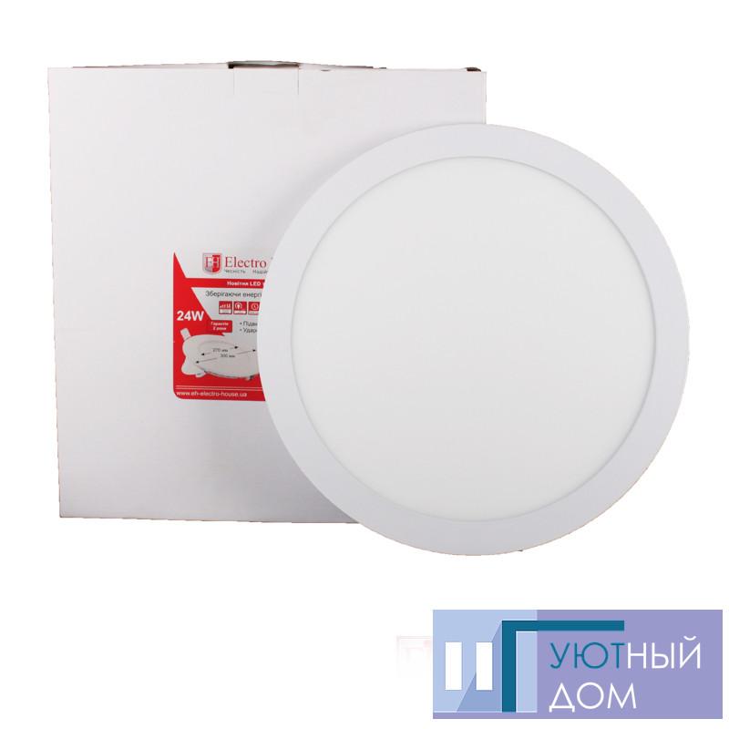 LED панель круглая 24вт 4100К Ø300мм 2160Lm