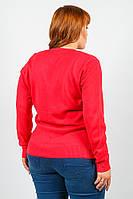 Кофта женская классический крой 816K021 (Коралловый) #I/M