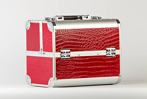 Кейс для визажиста красный, фото 2