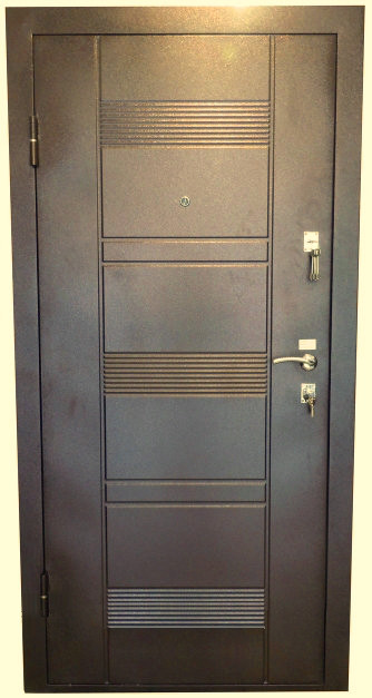 Нестандартные входные двери метал/МДФ 190 см. на улицу