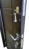 Нестандартные входные двери метал/МДФ 190 см. на улицу, фото 3