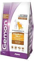 Gemon Medium Adult with Chicken корм для собак средних пород с курицей, 3 кг