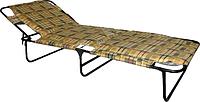 Раскладушка мягкая «Мария м30» с матрасом 3 см