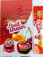 Конфеты жевательные с ароматом вишни + витамин С 18шт/270гр