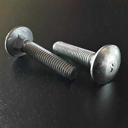 Болт мебельный (din 603) М6х20 мм, фото 2