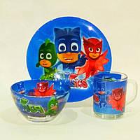 Набор детской посуды Герои в масках