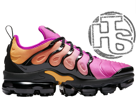 Женские кроссовки Nike Air VaporMax Plus Pink/Orange AO4550-004, фото 2