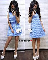 """Платье стильно и красивое """"Реснички"""", размер 42-44.  Харьков, фото 3"""