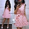 """Платье стильно и красивое """"Реснички"""", размер 42-44.  Харьков, фото 2"""