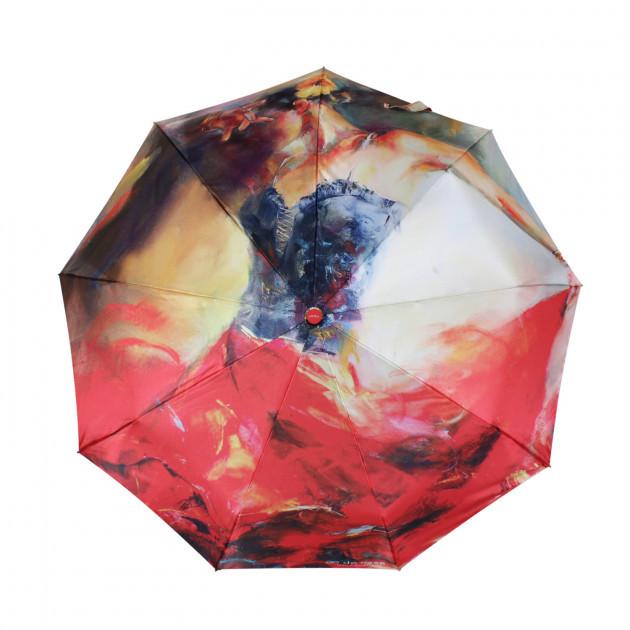 Зонт складной de esse  автомат цвет Фламенко