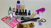 Стартовый набор для покрытия гель-лаком Tertio (3 цветных гель-лака+дизайн)