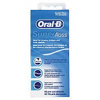 Зубная нить Oral-B Super Floss 50 м (5010622008204)