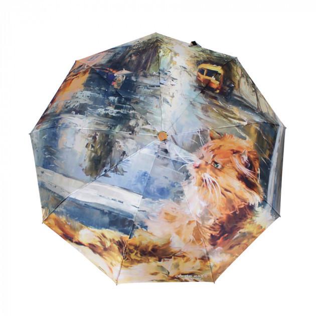 Зонт складной de esse 3130 автомат, цвет Кот