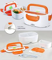 Электрический ланч-бокс с подогревом Electronic Lunchbox , фото 2