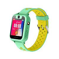 """Детские умные часы SUNROZ Q760 Watch X смарт-часы с GPS 3G 1.44"""""""" Зеленый (SUN0614)"""