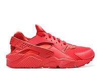 "Женские Кроссовки Nike Huarache ""Triple Red"" - ""Красные"" (Копия ААА+)"