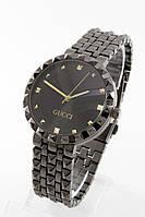 Женские наручные часы черные Gucci, Гуччи ( код: IBW103B )