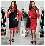 Женский комплект: платье-рубашка и накидка (5 цветов), фото 3