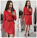 Женский комплект: платье-рубашка и накидка (5 цветов), фото 4