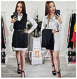Женский комплект: платье-рубашка и накидка (5 цветов), фото 5