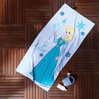 Пляжное полотенце TAC FROZEN ELSA 75*150см