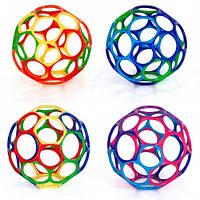 Мяч OBall Bright Starts 10 см., 4 цвета в ассортименте