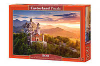 Пазлы «Замок Нойшванштайн, Германия» Castorland 500, В-52752
