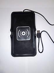 Автомобильное беспроводное зарядное устройство для телефонов Samsung, Iphone