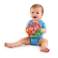Мяч Oball с погремушкой Лабиринт Bright Starts