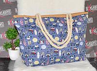 Пляжная сумка Совушки., фото 1