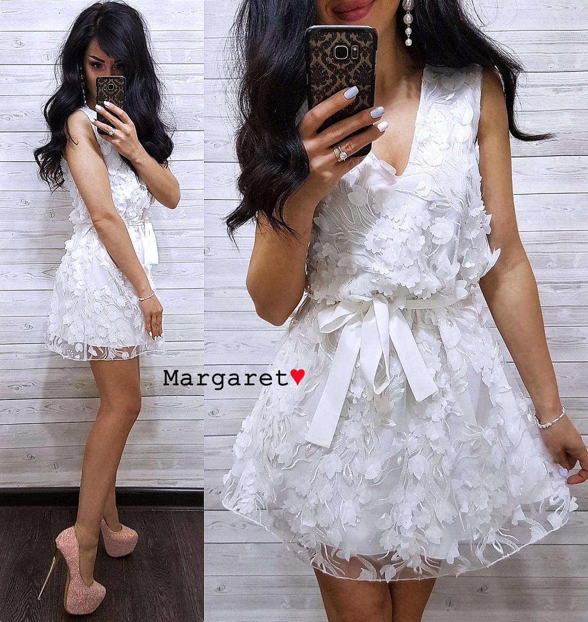 Платье с поясом, размер единый 42-44, Харьков