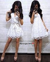 Платье с поясом, размер единый 42-44, Харьков, фото 2