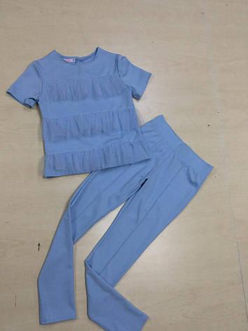 Детский костюм  для девочки Лето, размеры 128-146, фото 2