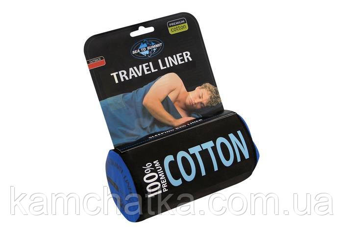 Вкладыш в спальник Sea to Summit Cotton Liner Standard