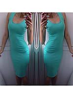летнее платье майка миди AL2223