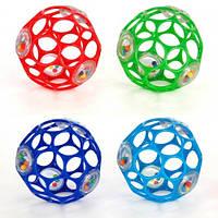 Мяч OBall с погремушкой 4 цвета в ассортименте Bright Starts